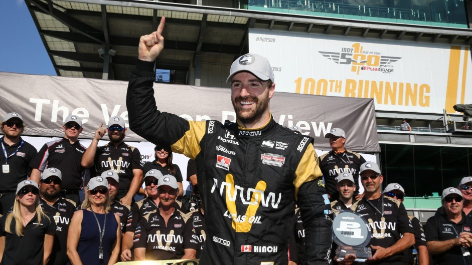 Comeback hero leads field for 100th Indy 500