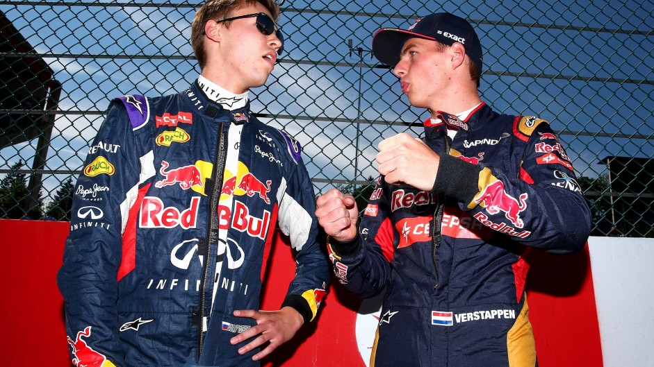 Kvyat axed by Red Bull, Verstappen takes his place for Spain