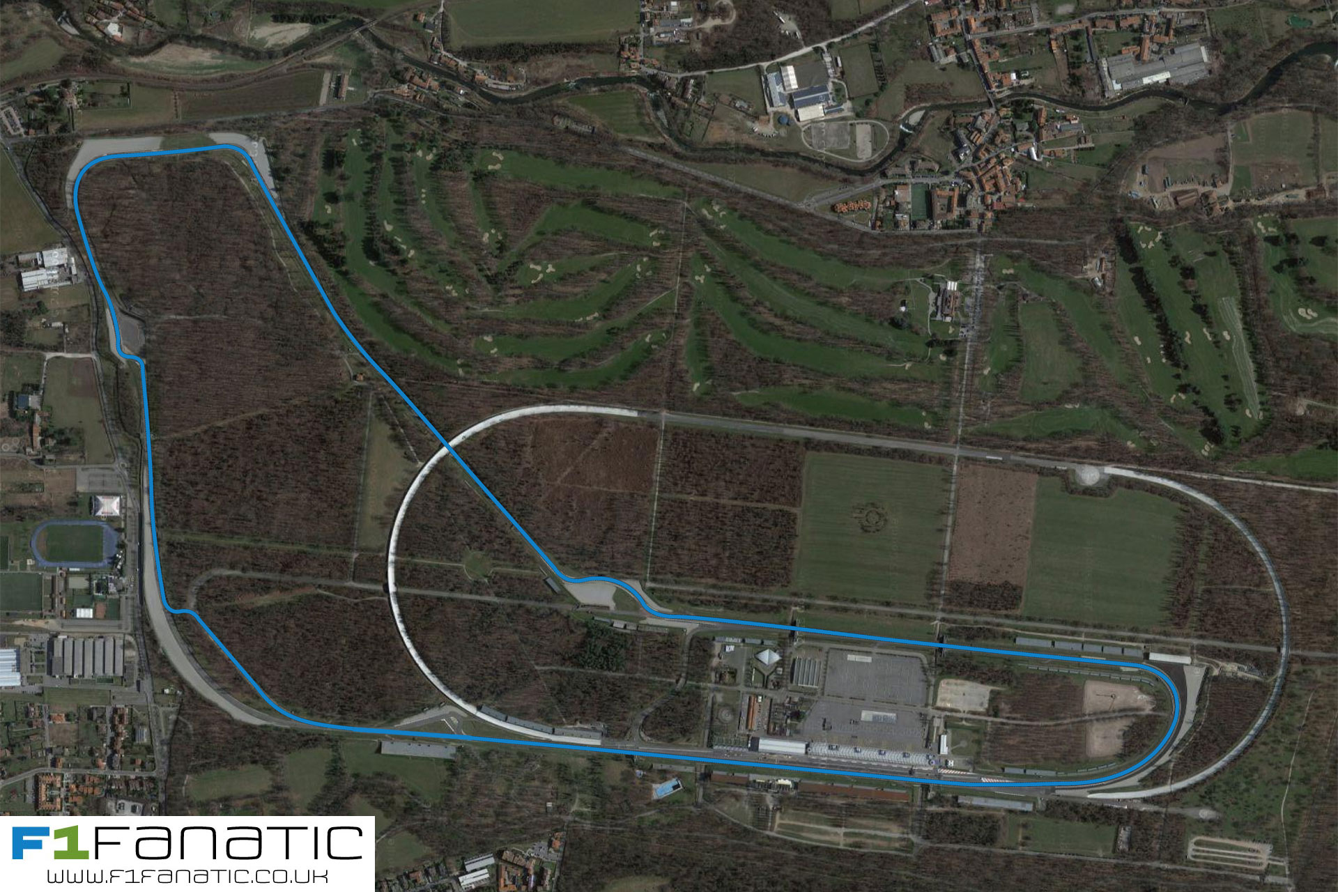 Monza track changes plan for 2017