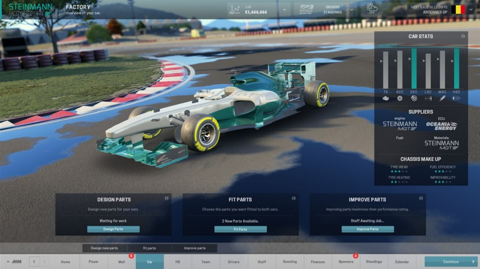 Enhanced Motorsport Manager to arrive in September