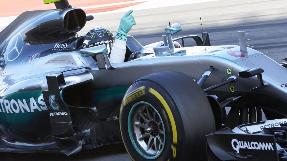 Mercedes poised to equal wins record