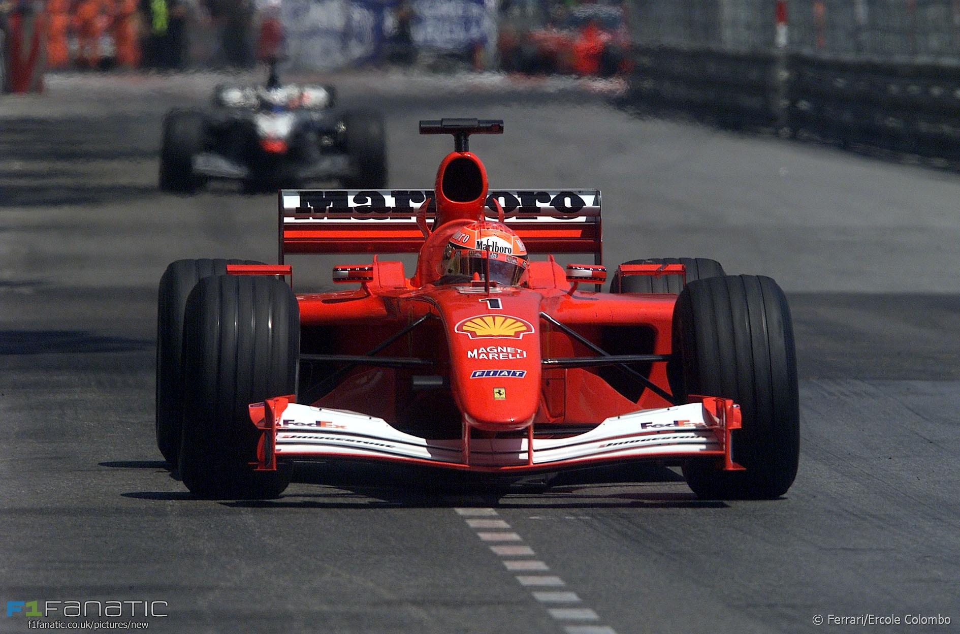 Michael Schumacher, Ferrari, Monte-Carlo, Monaco, 2001