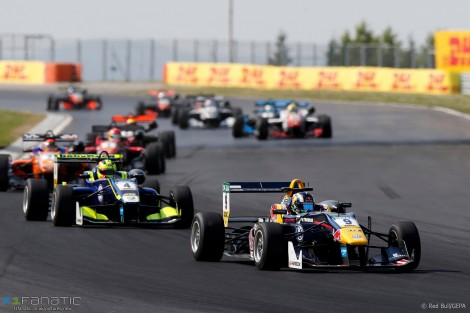 Sergio Sette Camara, European Formula Three, Hungaroring, 2016