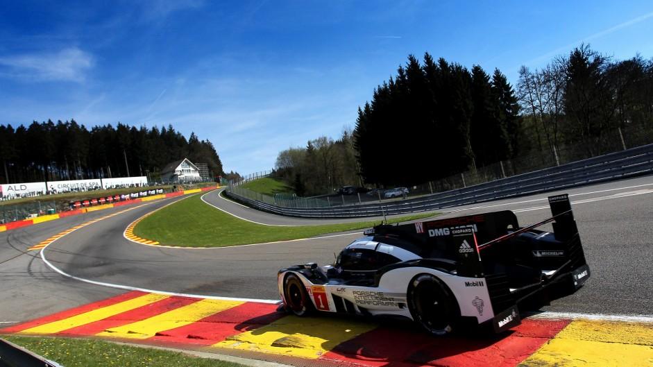 Porsche 919, World Endurance Championship, Spa-Francorchamps, 2016
