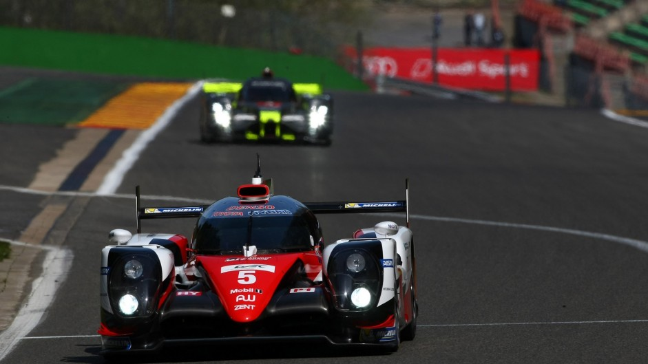 Toyota TS050, World Endurance Championship, Spa-Francorchamps, 2016