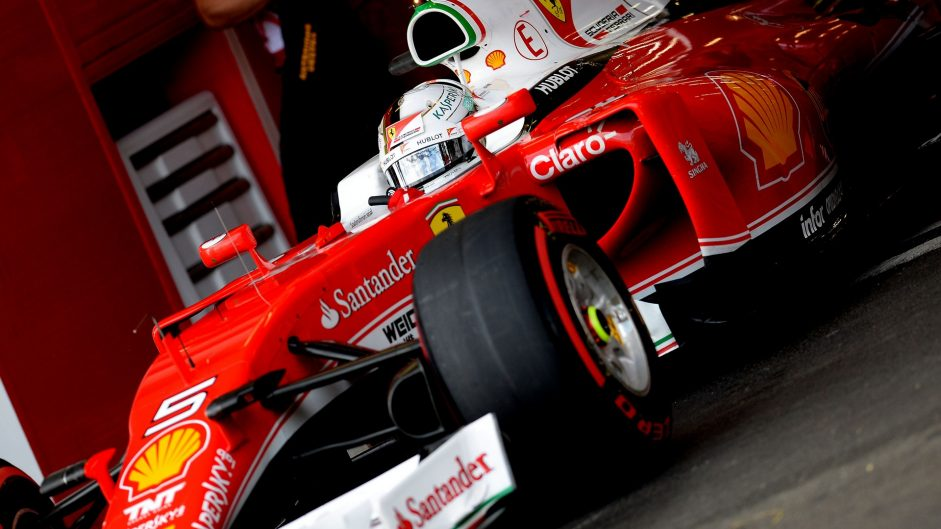 Ferrari uses token for MGU-K upgrade