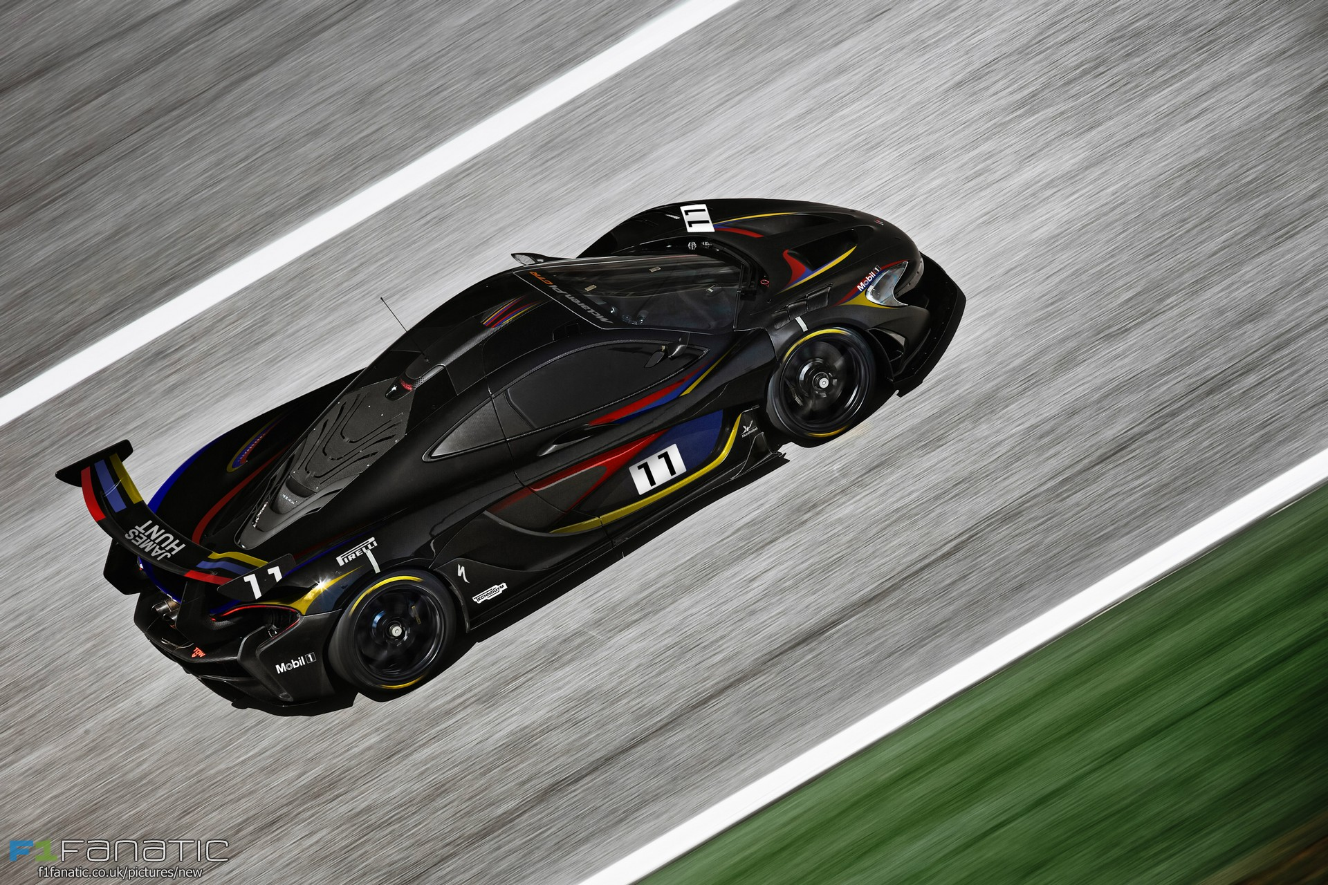 McLaren P1 GTR James Hunt edition