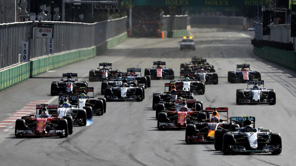 2017 Azerbaijan Grand Prix TV Times
