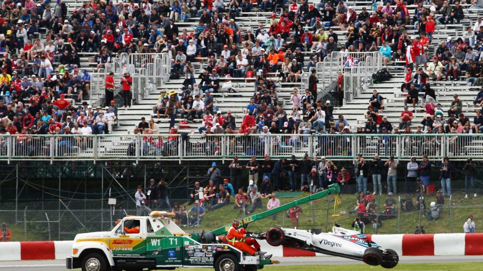 Hamilton on top as DRS fault causes Massa crash