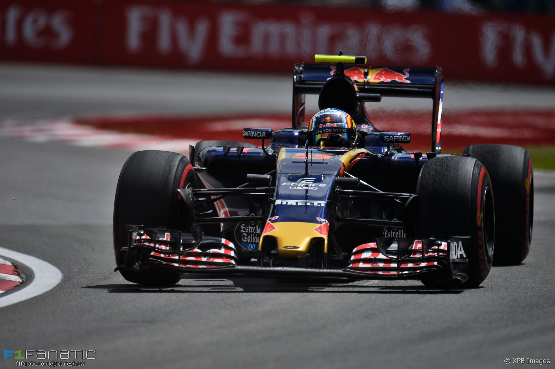 Carlos Sainz Jnr, Toro Rosso, Circuit Gilles Villeneuve, 2016