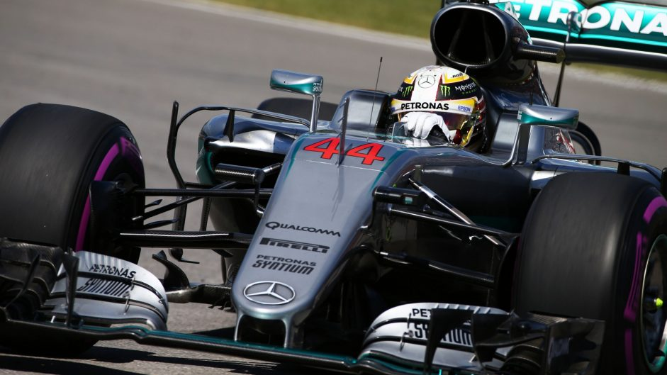 Plenty more pace left in Hamilton's Mercedes