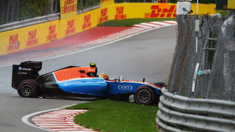 Rio Haryanto, Manor, Circuit Gilles Villeneuve, 2016