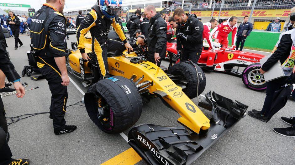 Jolyon Palmer, Renault, Circuit Gilles Villeneuve, 2016