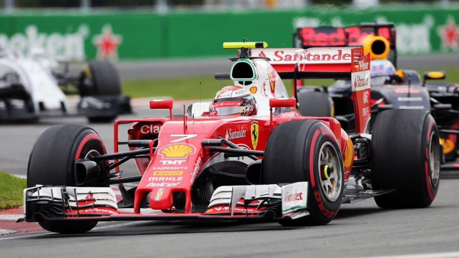 Kimi Raikkonen, Ferrari, Circuit Gilles Villeneuve, 2016