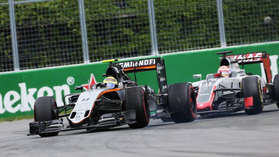 Sergio Perez, Force India, Circuit Gilles Villeneuve, 2016