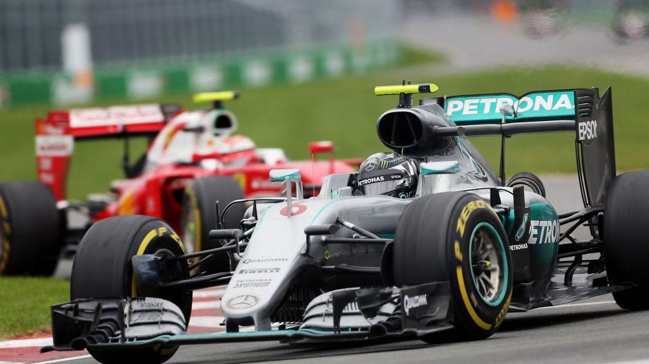 Nico Rosberg, Mercedes, Circuit Gilles Villeneuve, 2016