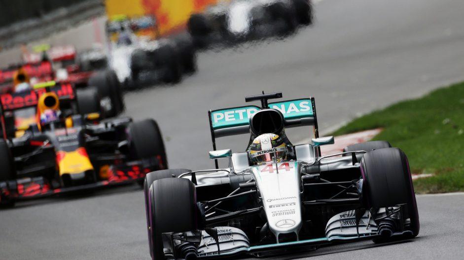 Lewis Hamilton, Mercedes, Circuit Gilles Villeneuve, 2016