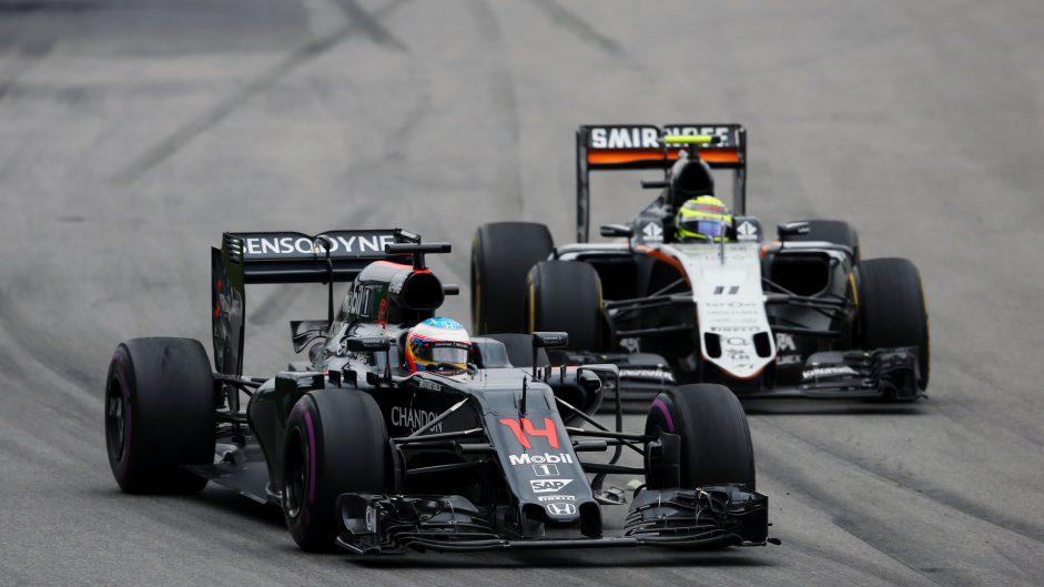 Fernando Alonso, McLaren, Circuit Gilles Villeneuve, 2016