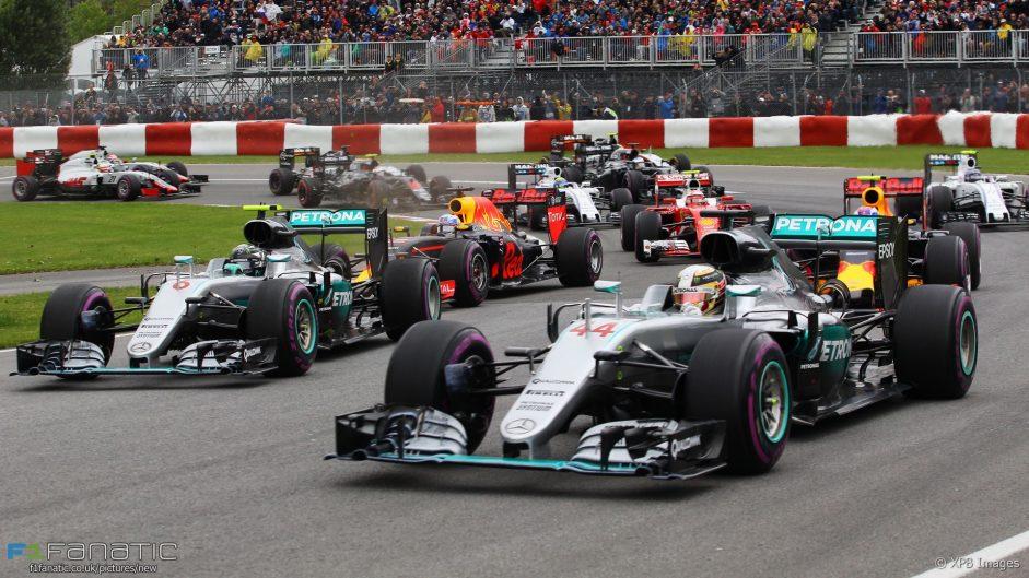 2016 Canadian Grand Prix driver ratings