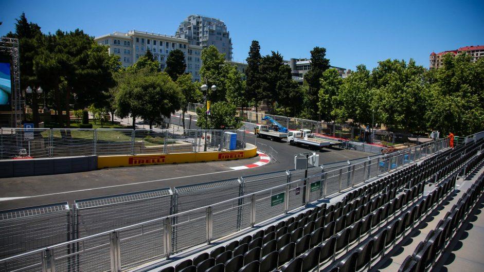 Turn 12, Baku City Circuit, 2016