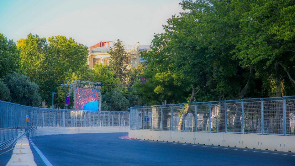 Turn 19, Baku City Circuit, 2016