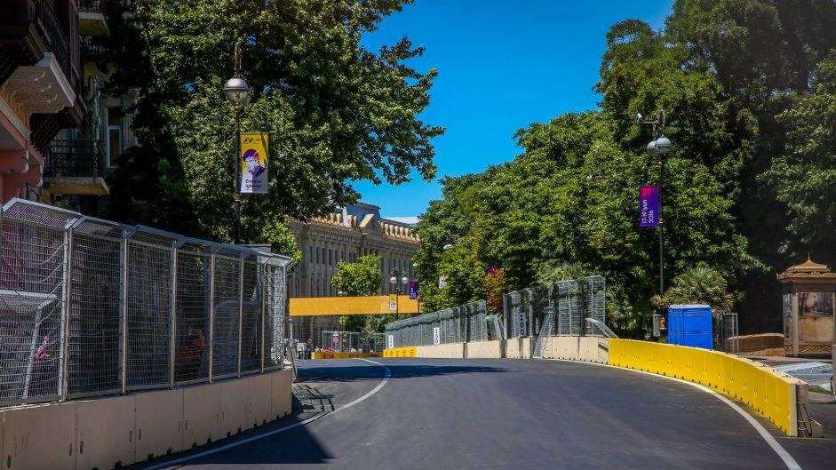 Turn 14, Baku City Circuit, 2016