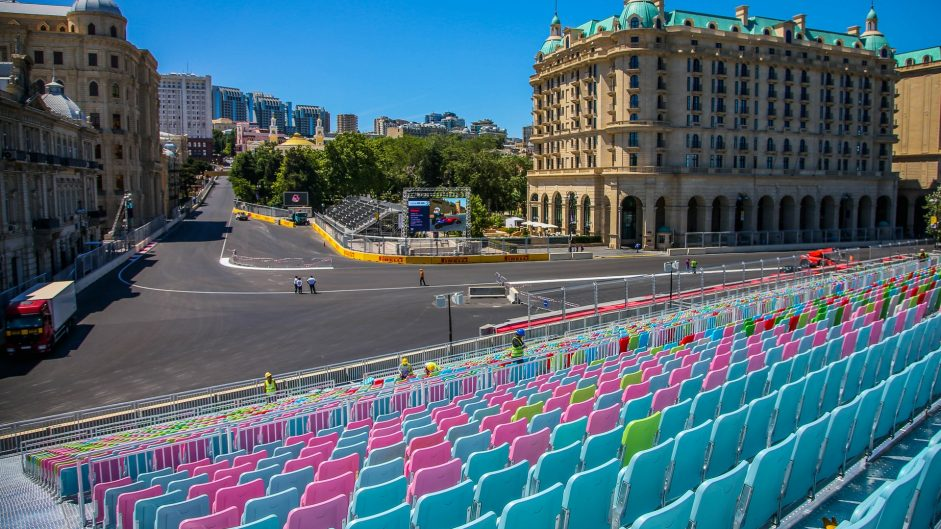 Turn 16, Baku City Circuit, 2016