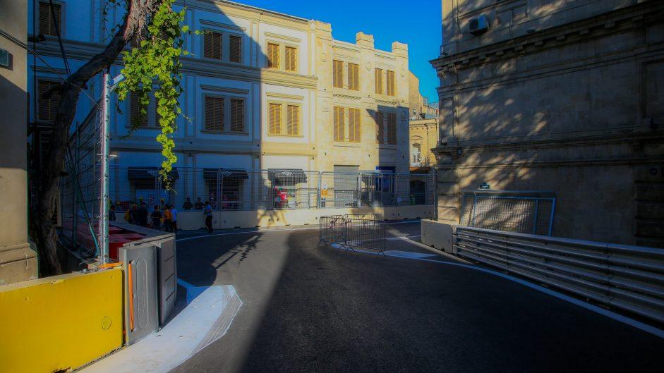 Turn 8, Baku City Circuit, 2016