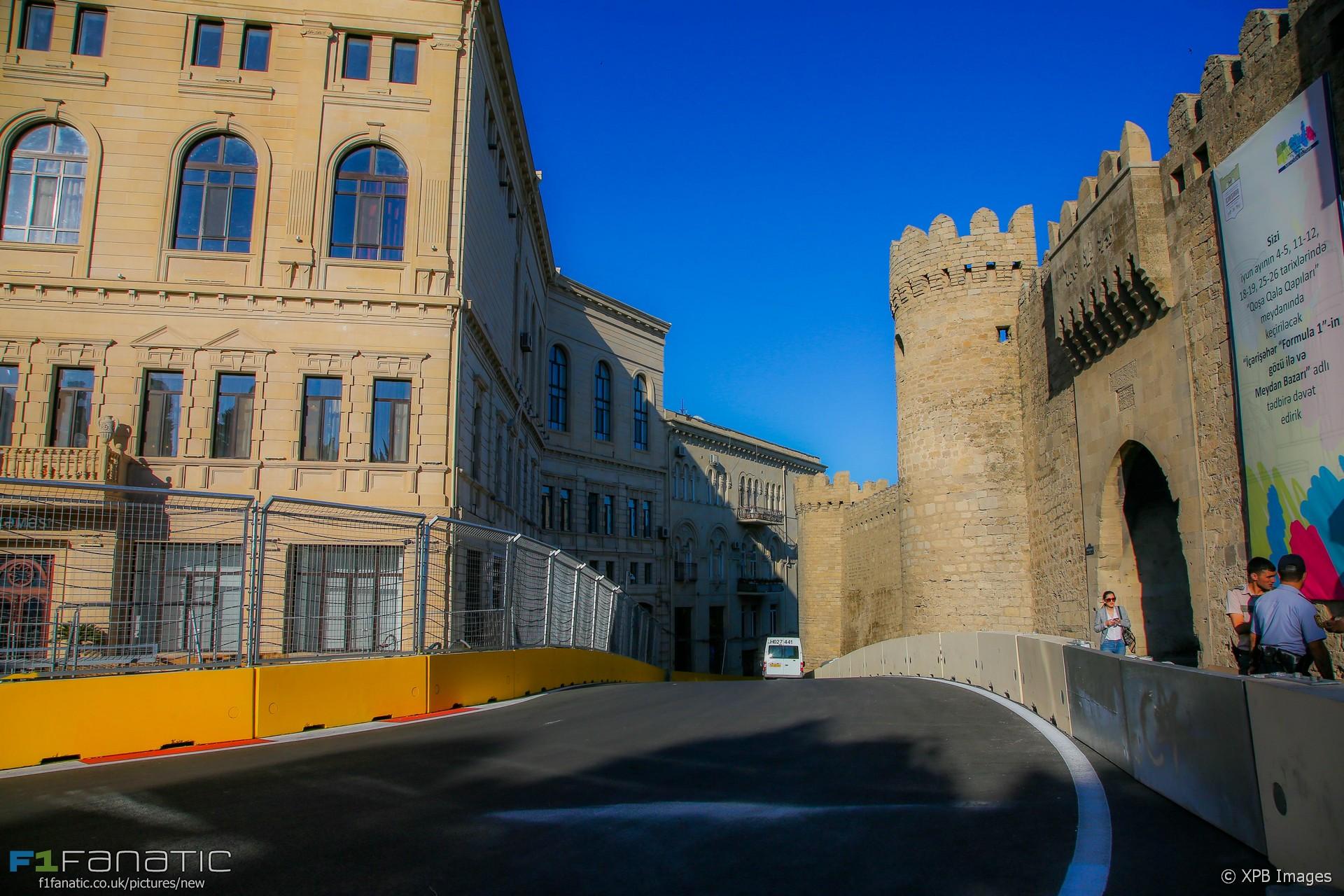Turn 10, Baku City Circuit, 2016