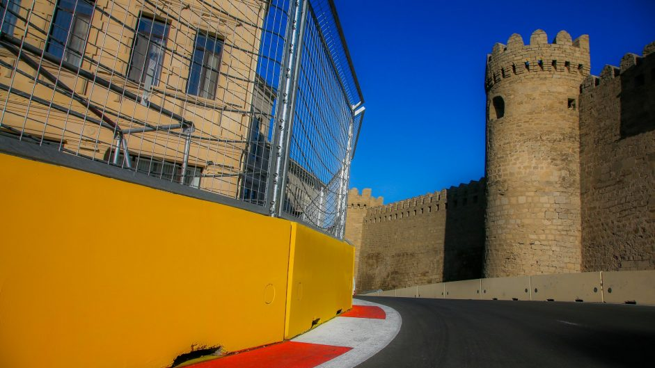 First look at the Baku City Circuit in pictures