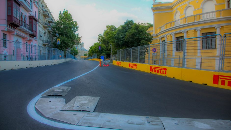 Turn 15, Baku City Circuit, 2016
