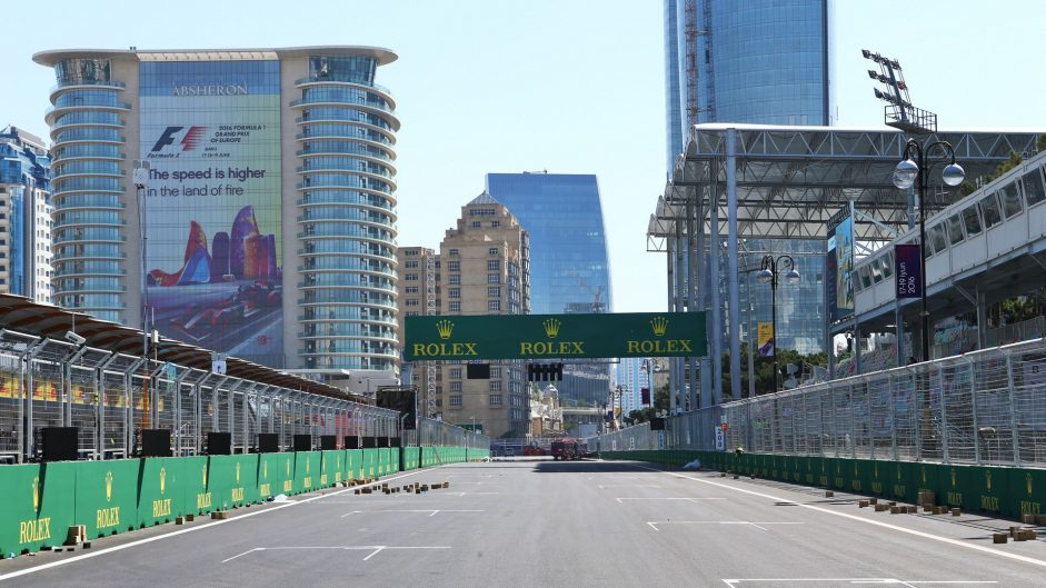 Interactive turn-by-turn guide to the new Baku City Circuit