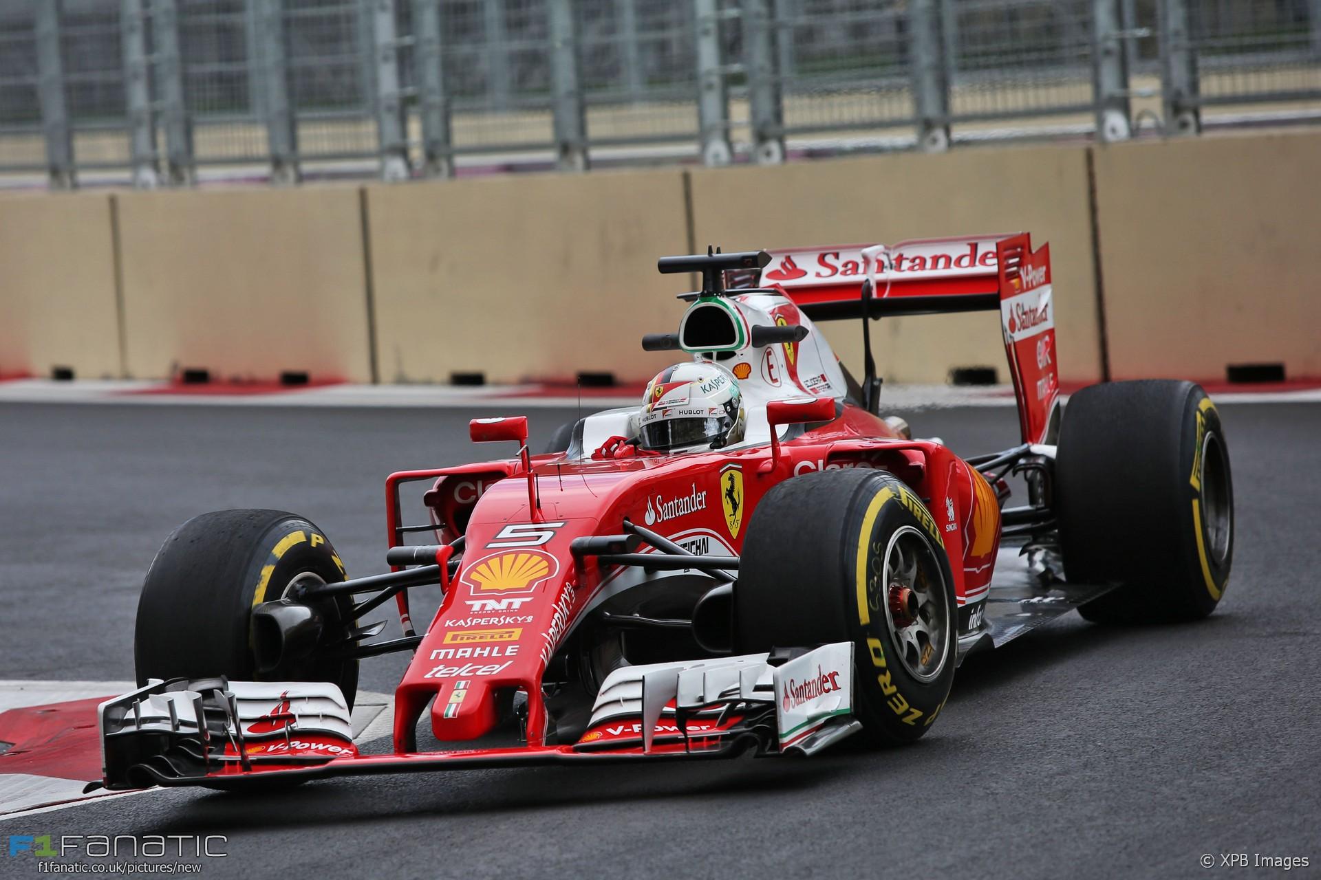 Sebastian Vettel, Ferrari, Baku City Circuit, 2016 · F1 ...
