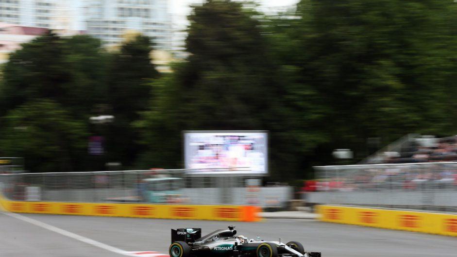 Hamilton quickest again as drain halts Bottas