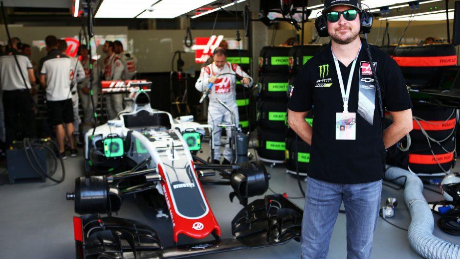 Kurt Busch, Haas, Baku City Circuit, 2016
