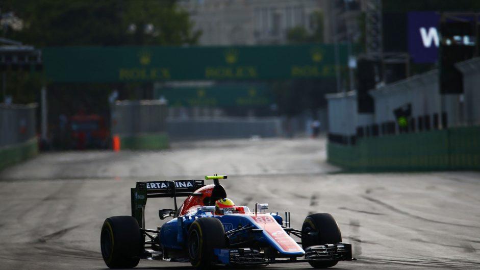 Rio Haryanto, Manor, Baku City Circuit, 2016