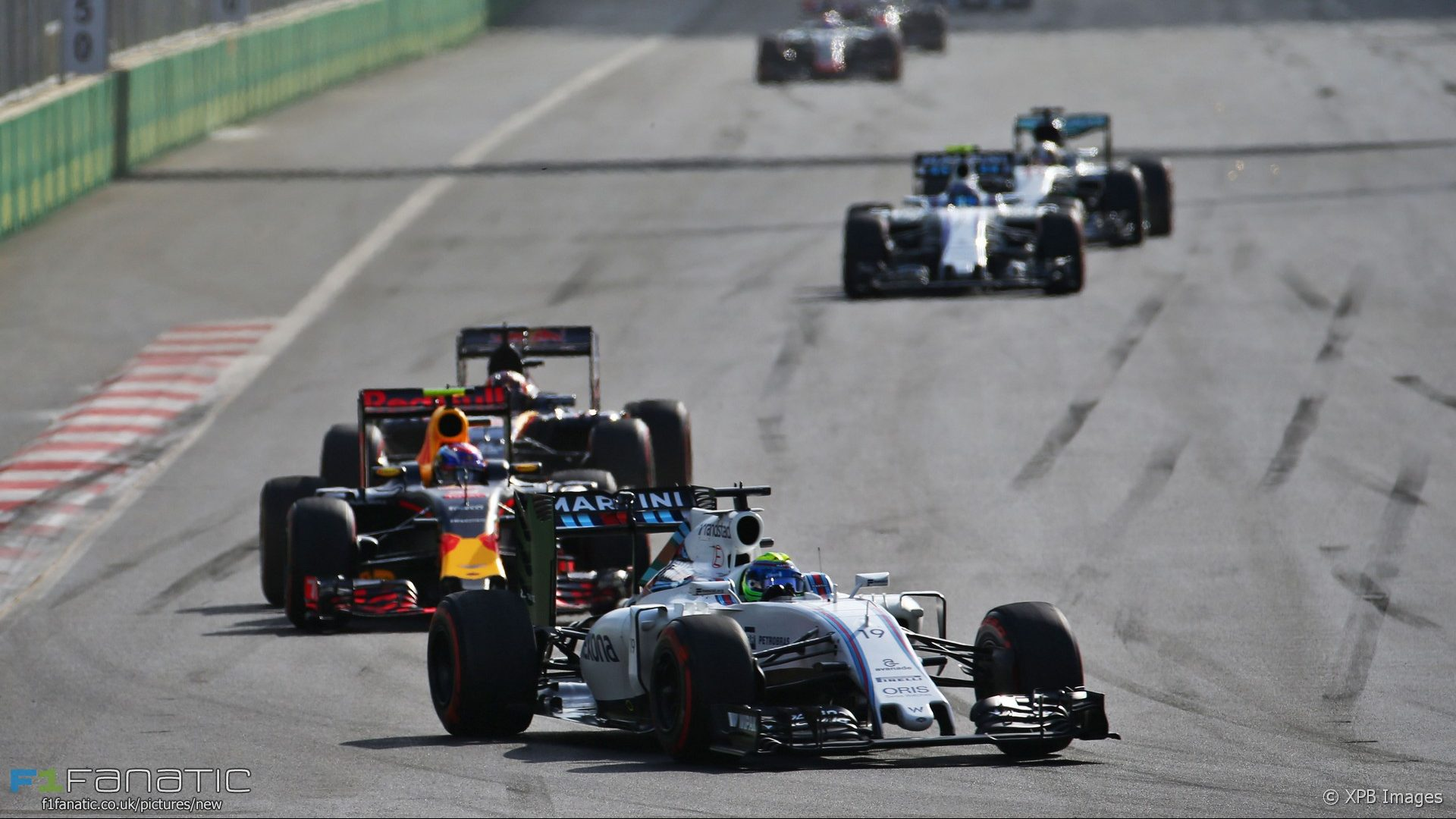 Felipe Massa, Williams, Baku City Circuit, 2016