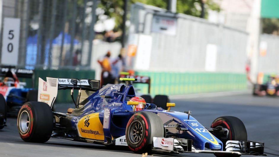 Felipe Nasr, Sauber, Baku City Circuit, 2016