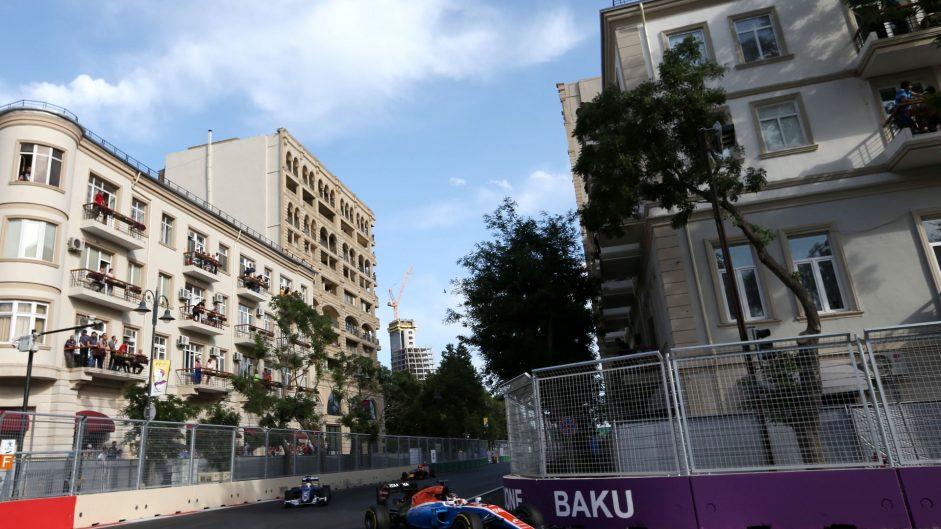 Pascal Wehrlein, Manor, Baku City Circuit, 2016