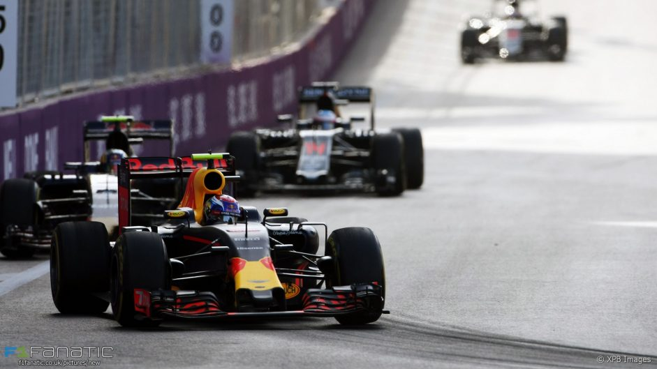 Max Verstappen, Red Bull, Baku City Circuit, 2016