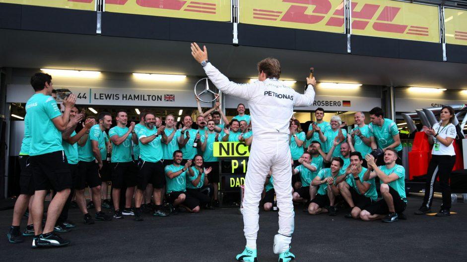 Nico Rosberg, Mercedes, Baku City Circuit, 2016