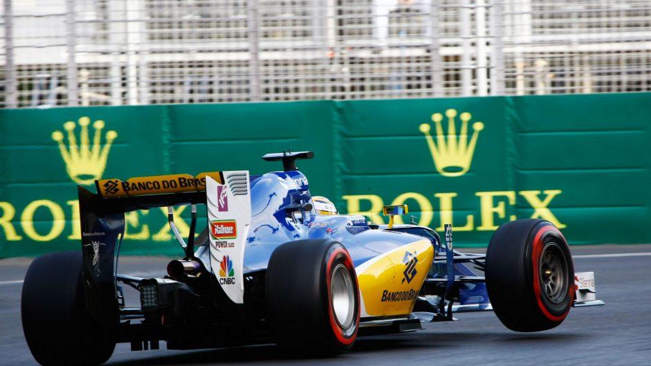 Marcus Ericsson, Sauber, Baku City Circuit, 2016