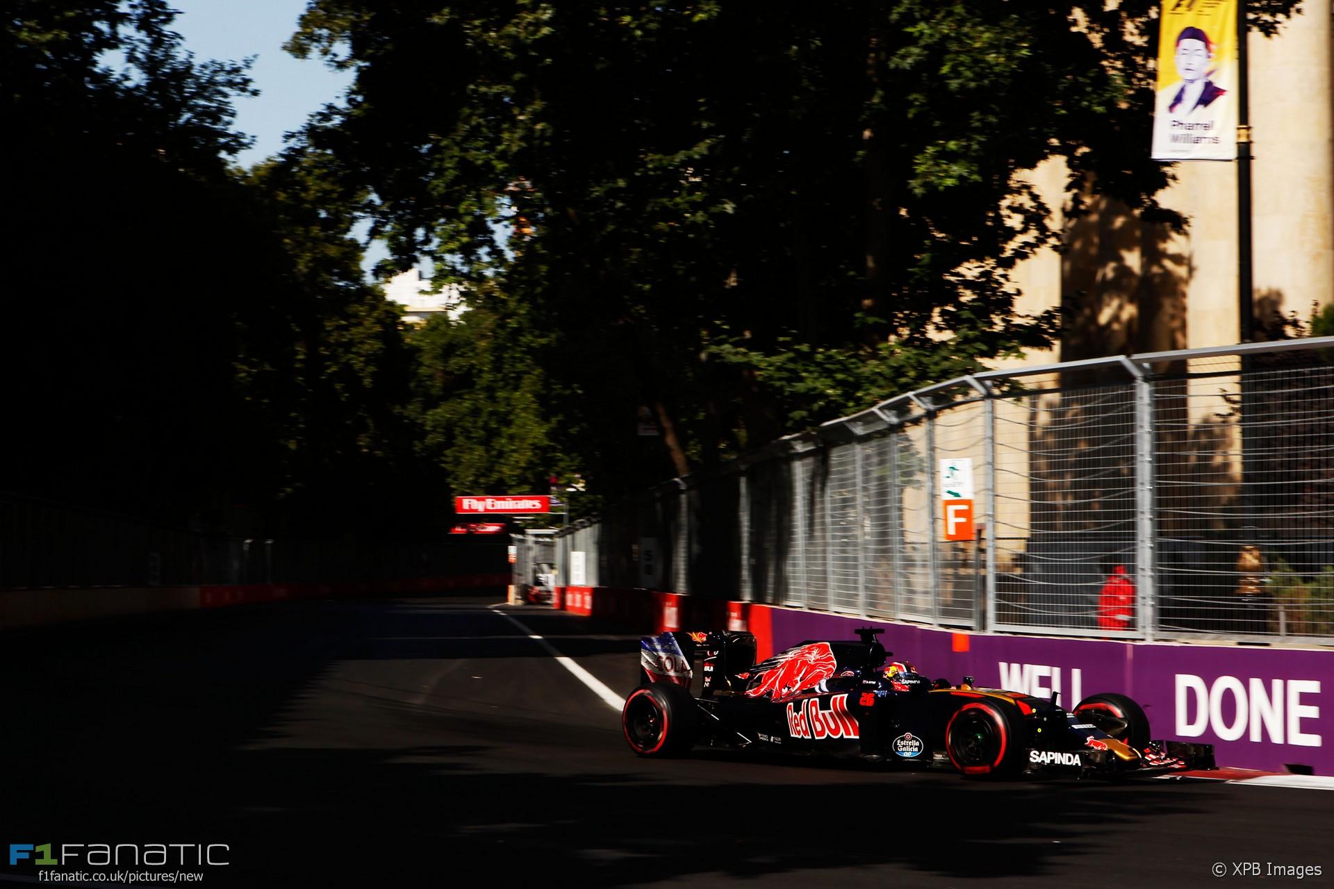Daniil Kvyat, Toro Rosso, Baku City Circuit, 2016