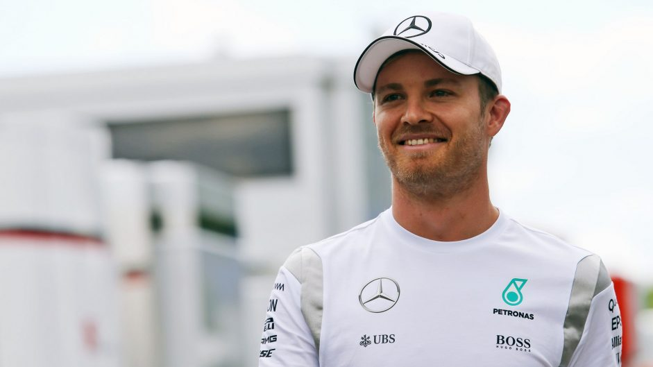 Rosberg sets record-breaking pace from the start