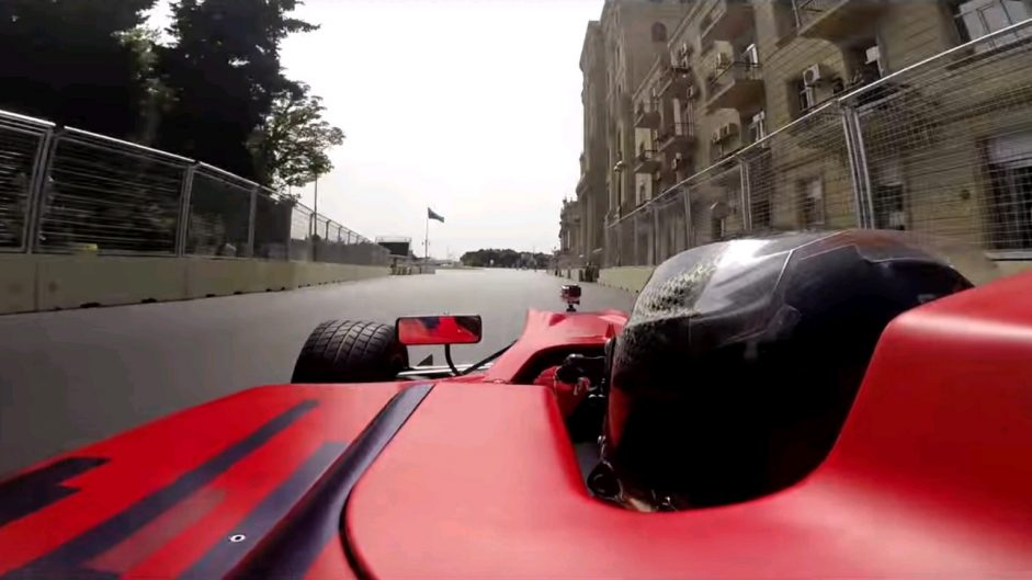 First onboard lap of Baku City Circuit revealed