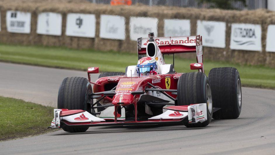 Marc Gene, Ferrari F60, Goodwood Festival of Speed, 2016