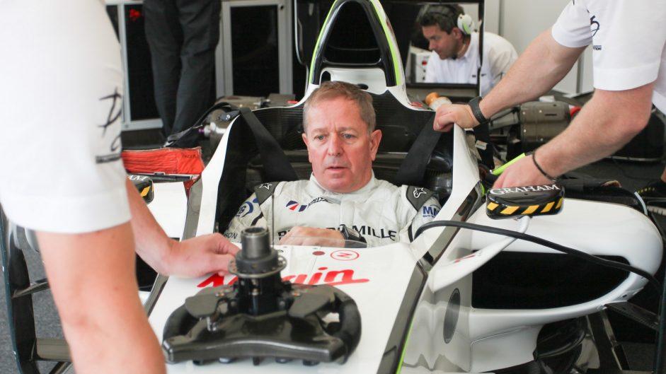 Martin Brundle, Brawn BGP001, Goodwood Festival of Speed, 2016
