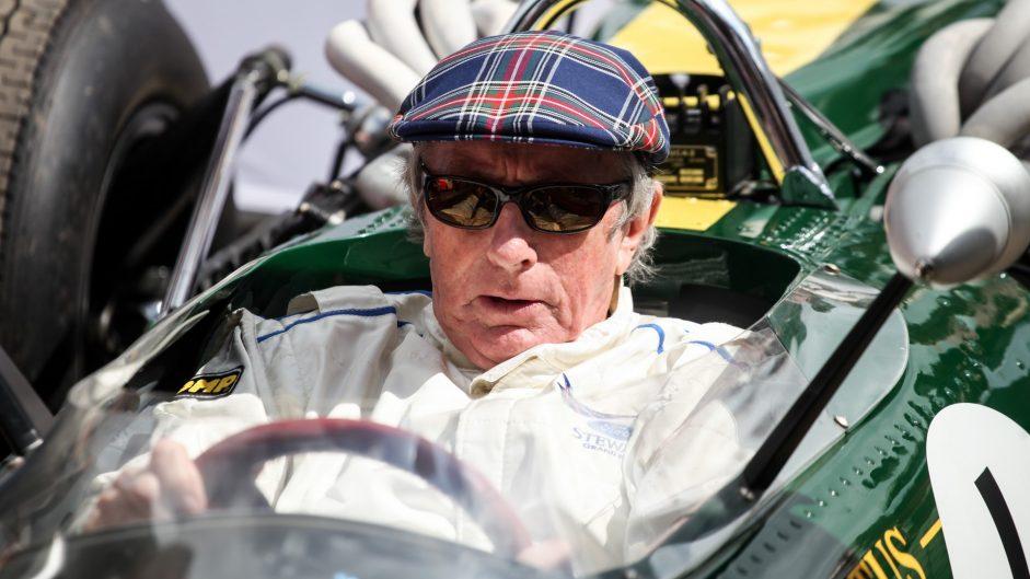 Jackie Stewart, Lotus 49, Goodwood Festival of Speed, 2016