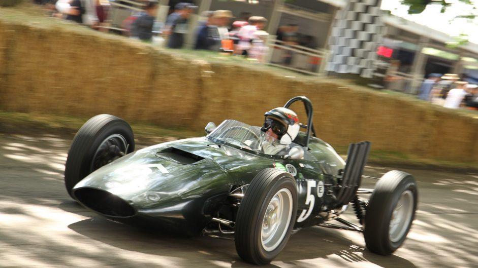 Jacki Stewart, BRM P568, Goodwood Festival of Speed, 2016
