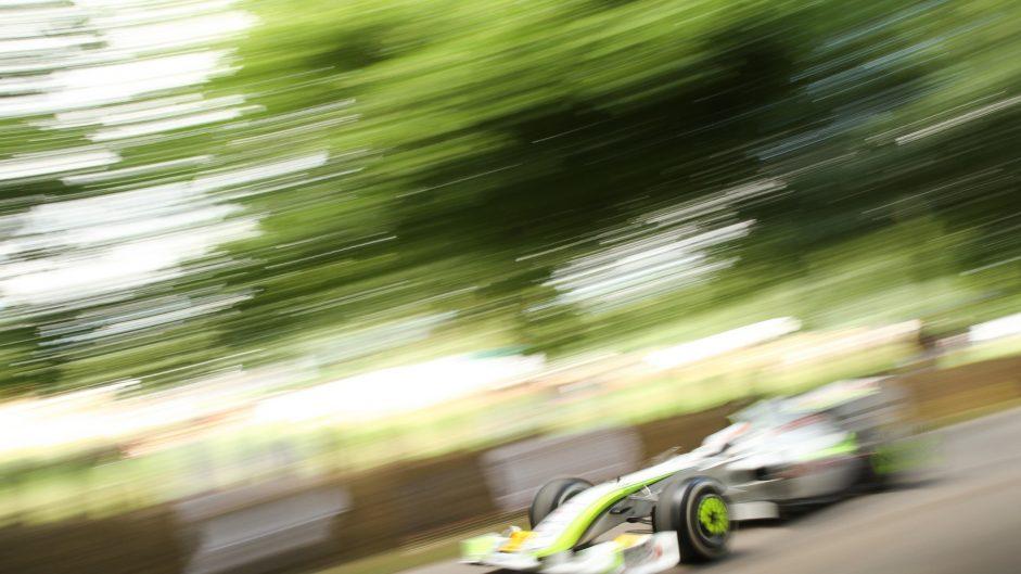 Brawn BGP001, Goodwood Festival of Speed, 2016